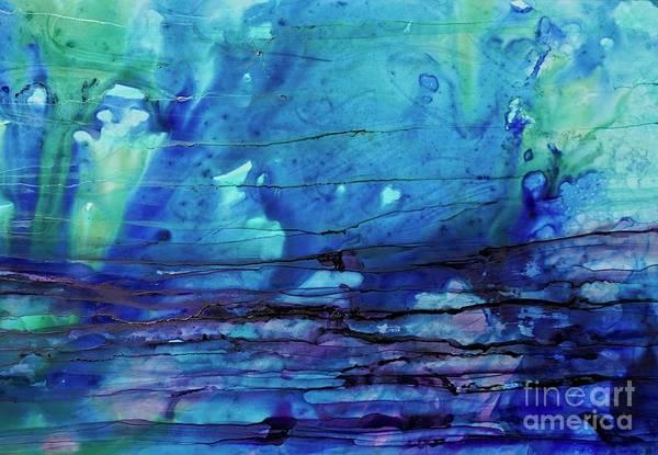 Painting - Horizontal Blue Daze by Christine Chin-Fook