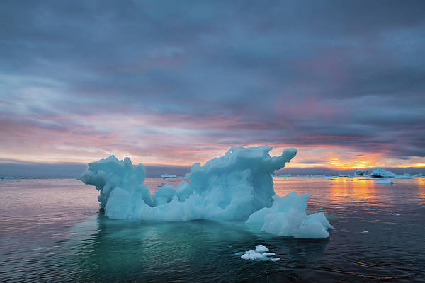 Photograph - Blue Ice by Michael Blanchette