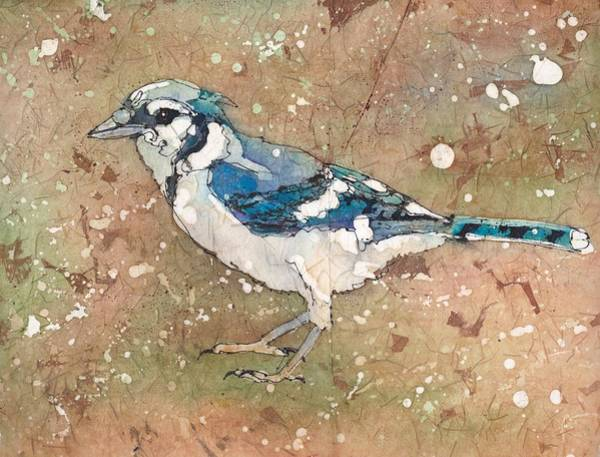 Painting - Blue Jay by Ruth Kamenev