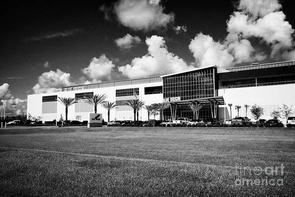 Wall Art - Photograph - Blue Origin Aerospace And Spaceflight Services Company Building Kennedy Space Center Titusville Flor by Joe Fox