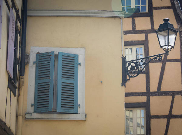 Wall Art - Photograph - Blue Shutters by Teresa Mucha