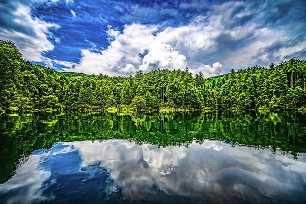 Photograph - Boating And Camping On Lake Jocassee In Upstate South Carolina by Alex Grichenko
