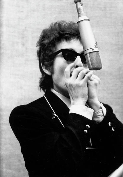 Adults Only Photograph - Bob Dylan Records Bringing It All Back by Michael Ochs Archives