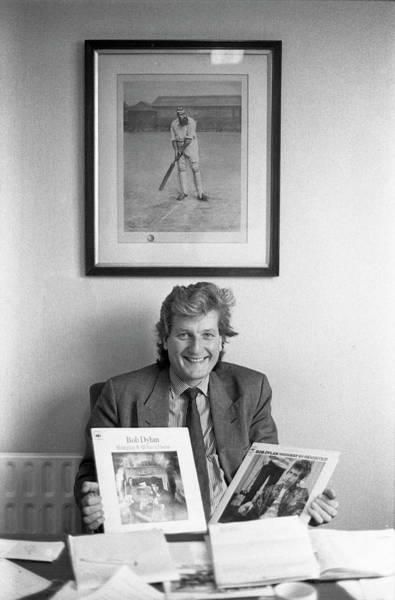 Warwickshire Photograph - Bob Willis 1990 English Cricketer by Martyn Goodacre