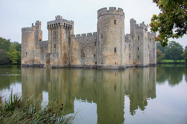 Wall Art - Photograph - Bodiam Castle by Martin Newman
