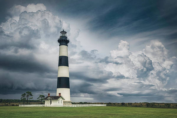 Bodie Photograph - Bodie Island Light by Robert Fawcett