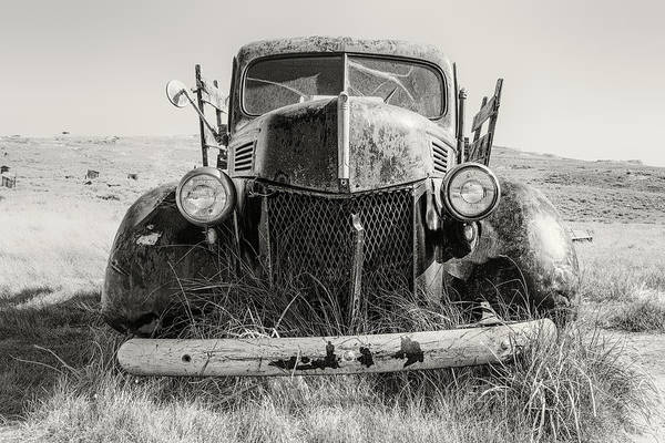 Bodie Ghost Town Wall Art - Photograph - Bodie Truck by Joseph Smith