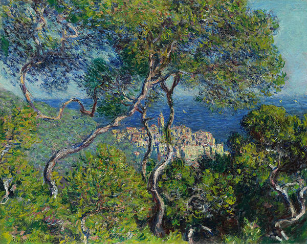 Painting - Bordighera, 1884 by Claude Monet