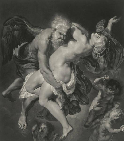 Wall Art - Painting - Boreas Abducting Oreithyia by Peter Paul Rubens