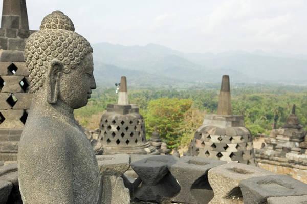 Art And Craft Photograph - Borobudur Java Indonesia by Lp7