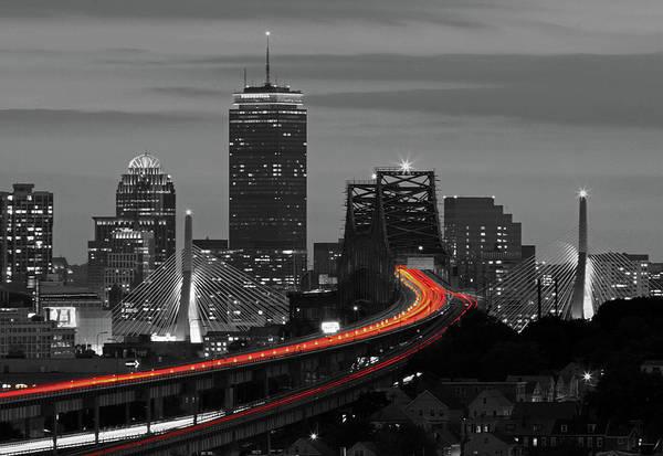 Photograph - Boston Lifeline by Juergen Roth