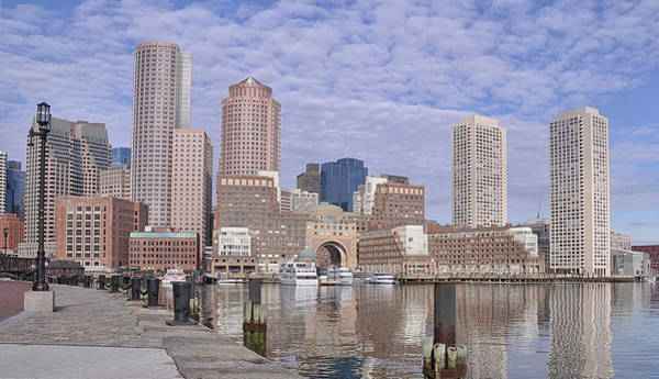 Photograph - Boston You're My Home by Joanne Brown