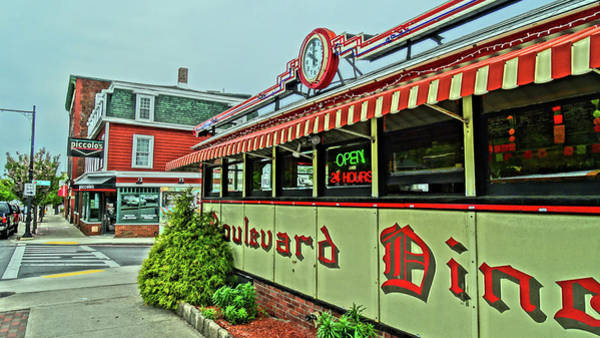 Wall Art - Photograph - Boulevard Diner by Bill Dussault