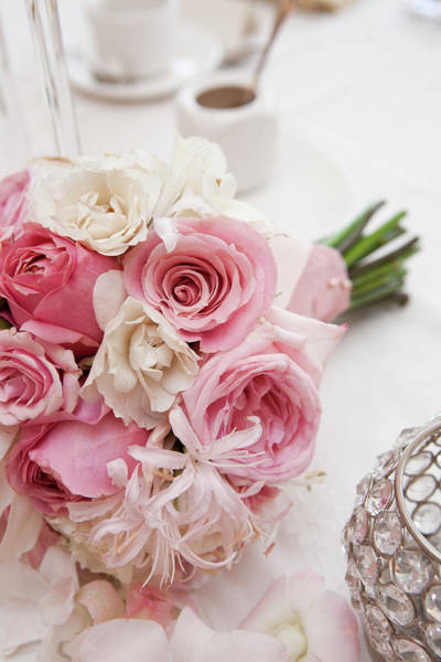 Wedding Bouquet Photograph - Bouquet Of Flowers by Ikonica