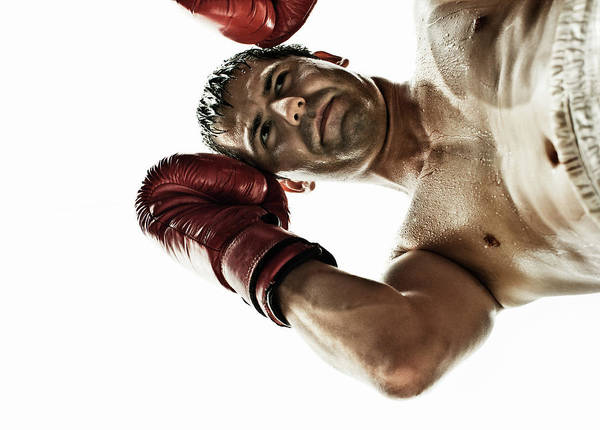 Boxing Photograph - Boxing by Patrik Giardino