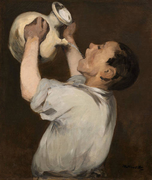Wall Art - Painting - Boy With Pitcher by Edouard Manet