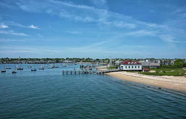 Wall Art - Photograph - Nantucket Harbor And Nantucket Boat Basin - Massachusetts by Brendan Reals