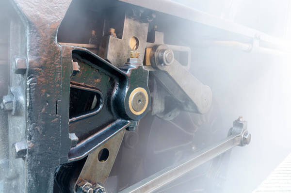 Photograph - Brass And Steam by Steam Train