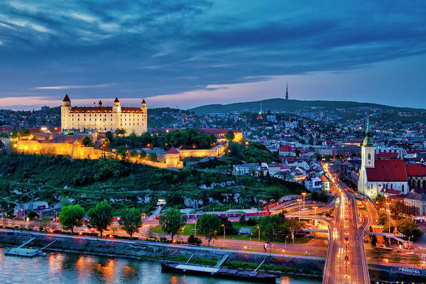 Photograph - Bratislava Castle And The Roofs Of Old Town by Fabrizio Troiani