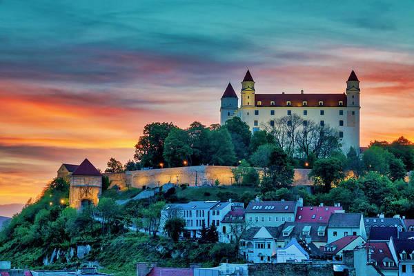Photograph - Bratislava Castle by Fabrizio Troiani
