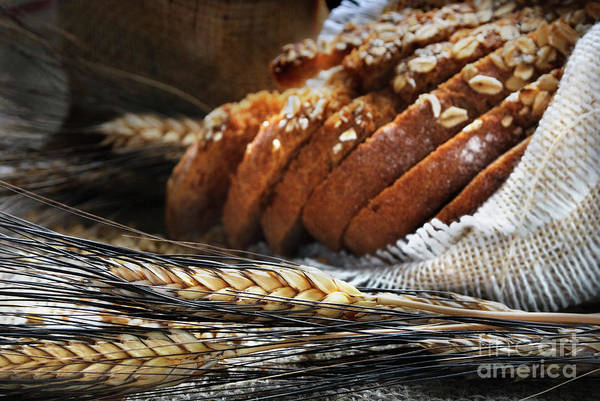 Wall Art - Photograph - Bread And Wheat Ears by Jelena Jovanovic