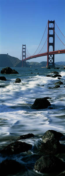 Wall Art - Photograph - Bridge Across The Sea, Golden Gate by Panoramic Images