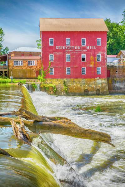 Wall Art - Photograph - Historic Bridgeton Mill by Stephen Stookey