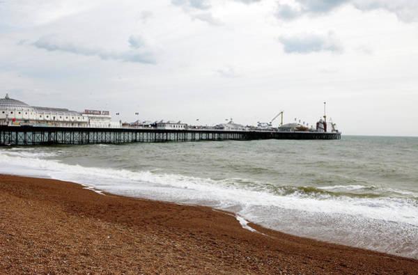 Palace Pier Wall Art - Photograph - Brighton Pier by Richard Newstead