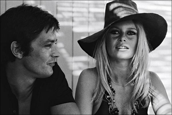Hat Photograph - Brigitte Bardot In Saint Tropez, France by Jean-pierre Bonnotte