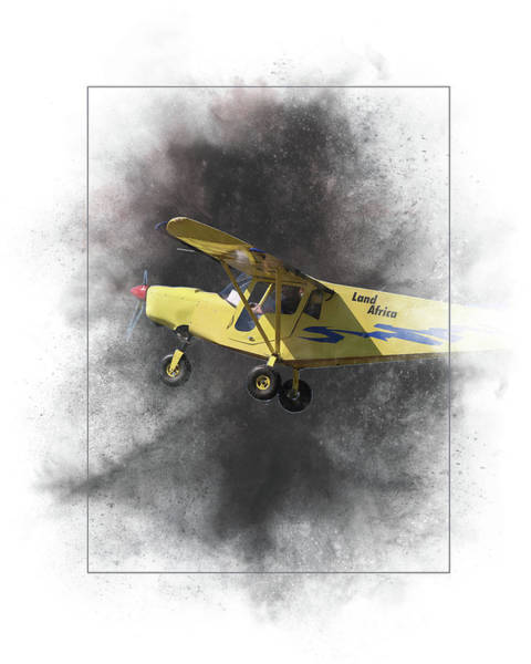 Flag Mixed Media - Brm Land Africa Painting by Smart Aviation