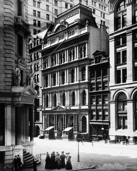 New York Stock Exchange Wall Art - Photograph - Broad Street by The New York Historical Society