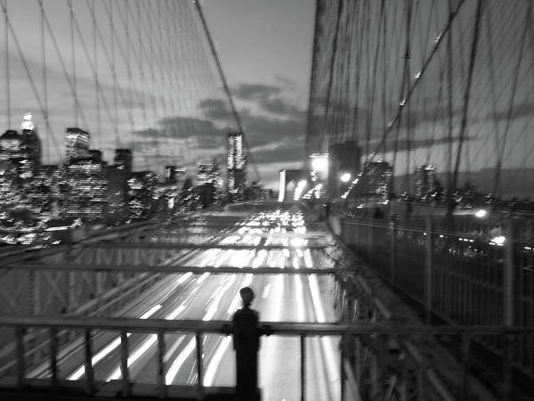 Art Print featuring the photograph Brooklyn Bridge by Edward Lee