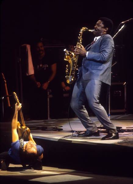 Coliseum Photograph - Bruce Springsteen Live by Ed Perlstein