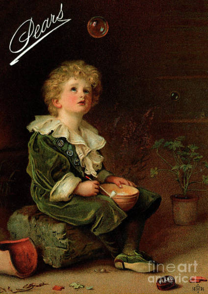 Wall Art - Painting - Bubbles  by John Everett Millais