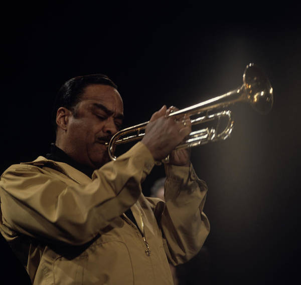 Clayton Photograph - Buck Clayton Performs On Stage by David Redfern