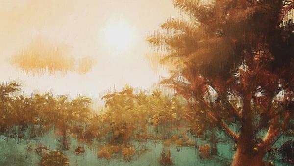 Painting - Bucolic Paradise - 47 by Andrea Mazzocchetti
