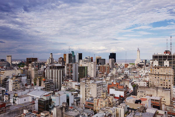 Buenos Aires Photograph - Buenos Aires Skyline by Jeremy Woodhouse