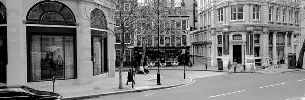 Wall Art - Photograph - Buildings Along A Road, London, England by Panoramic Images