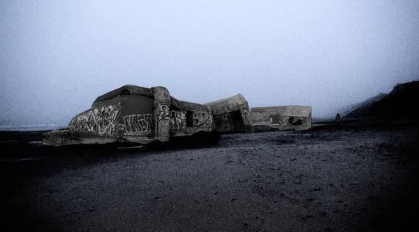 Photograph - Bunkerruine by Jorg Becker