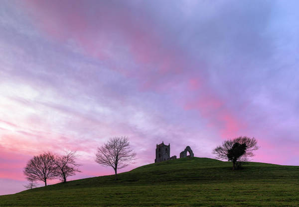 St Michaels Church Photograph - Burrow Mump - England by Joana Kruse