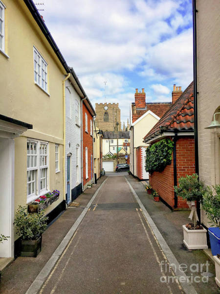 Wall Art - Photograph - Bury St Edmunds Street by Tom Gowanlock