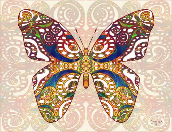 Mixed Media - Butterfly Illustration - Transforming Rainbows  - Omaste Witkowski by Omaste Witkowski