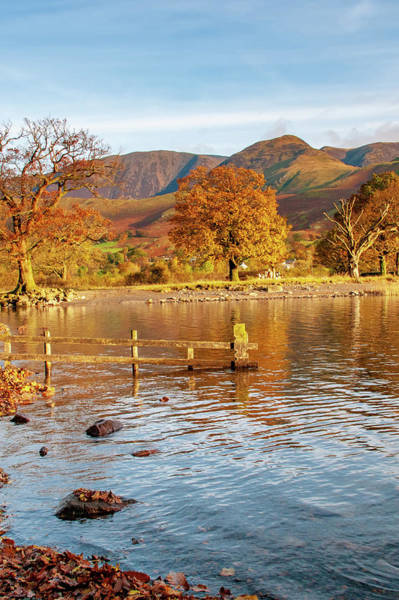 Wall Art - Mixed Media - Buttermere Autumn by Smart Aviation
