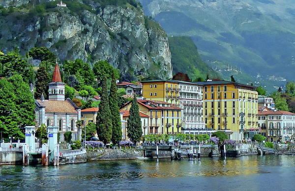 Photograph - Cadenabbia Scenic View by Anthony Dezenzio