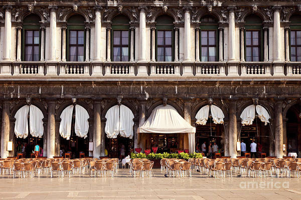 Photograph - Caffe Florian Venice Italy  by Brian Jannsen