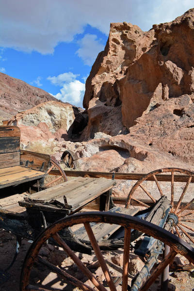 Photograph - Calico Ghost Town Carriage by Kyle Hanson