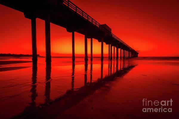 Scripps Pier Photograph - California Dreaming by Edward Fielding