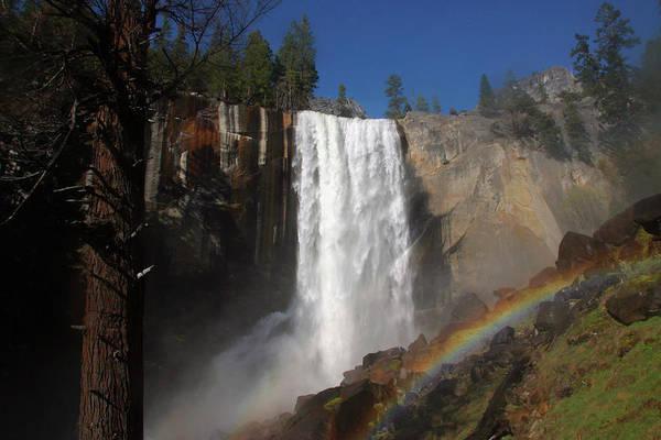 Vernal Fall Photograph - California, Yosemite National Park, A by Jim Gensheimer