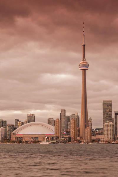 Wall Art - Photograph - Canada, Ontario, Toronto, Harbor, Cn by Walter Bibikow