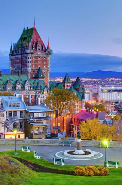 Quebec Photograph - Canada, Quebec City by Alan Copson